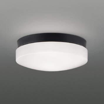 【最安値挑戦中!最大25倍】コイズミ照明 AU46892L 軒下用シーリング LEDランプ交換可能型 直付・壁付取付 昼白色 ブラック 防雨・防湿型