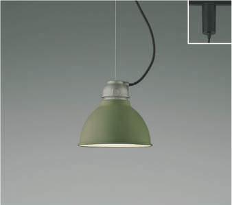 【最安値挑戦中!最大25倍】コイズミ照明 AP45568L ペンダント プラグタイプ 白熱球60W相当 LED付 電球色 シダーグリーン