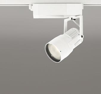 【最大44倍お買い物マラソン】オーデリック XS412117 スポットライト LED一体型 C1950 CDM-T35W相当 電球色 プラグタイプ31° 非調光 ホワイト