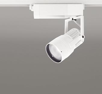 【最大44倍お買い物マラソン】オーデリック XS412139 スポットライト LED一体型 C1650 CDM-T35W相当 温白色 プラグタイプ22° 非調光 ホワイト