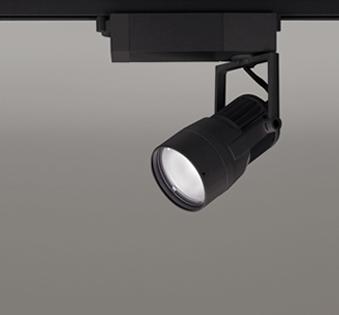 【最大44倍お買い物マラソン】オーデリック XS412156 スポットライト スプレッド配光 LED一体型 C1650 CDM-T35W相当 白色 プラグタイプ 非調光 ブラック