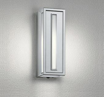 【最安値挑戦中!最大25倍】オーデリック OG041713NC エクステリアポーチライト LED電球ミニクリプトン形 人感センサ 白熱灯40W相当 昼白色