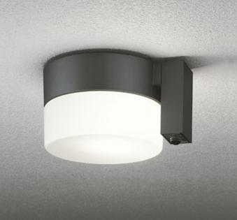 【最安値挑戦中!最大25倍】照明器具 オーデリック OG254402LC エクステリアポーチライト LED一体型 人感センサ 白熱灯40W相当 電球色タイプ