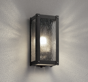 【最大44倍スーパーセール】照明器具 オーデリック OG254488LC エクステリアポーチライト LED 人感センサ 白熱灯40W相当 電球色タイプ