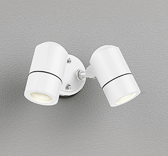 【最安値挑戦中!最大25倍】オーデリック OG254581 エクステリアスポットライト LED 防雨型 オフホワイト ランプ別売