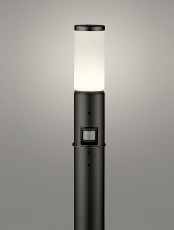 【最安値挑戦中!最大25倍】オーデリック OG254649LC(ランプ別梱包) ガーデンライト LED 電球色 人感センサ 防雨型 黒色