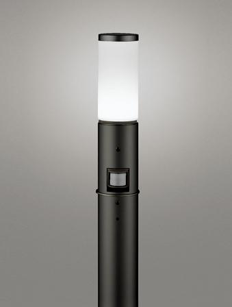 【最安値挑戦中!最大25倍】オーデリック OG254649NC(ランプ別梱包) ガーデンライト LED 昼白色 人感センサ 防雨型 黒色