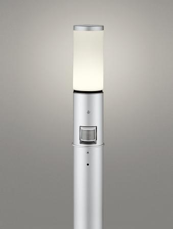 【最大44倍スーパーセール】オーデリック OG254650LC(ランプ別梱包) ガーデンライト LED 電球色 人感センサ 防雨型 マットシルバー