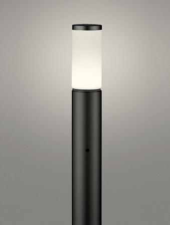 【最安値挑戦中!最大25倍】オーデリック OG254651LD(ランプ別梱包) ガーデンライト LED 電球色 明暗センサ 防雨型 黒色