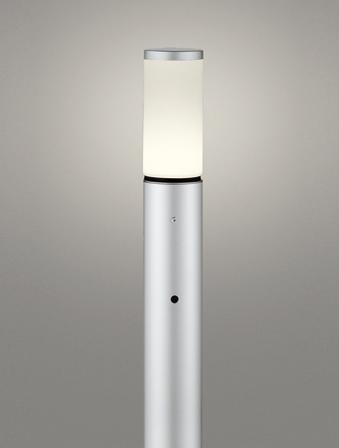 【最安値挑戦中!最大25倍】オーデリック OG254652LD(ランプ別梱包) ガーデンライト LED 電球色 明暗センサ 防雨型 マットシルバー