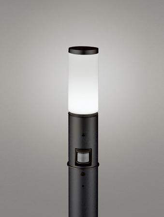 【最安値挑戦中!最大25倍】オーデリック OG254655NC(ランプ別梱包) ガーデンライト LED 昼白色 人感センサ 防雨型 黒色
