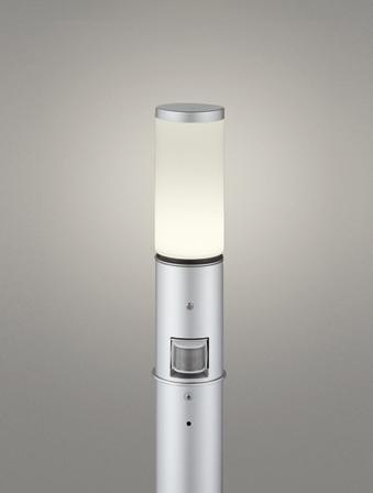 【最安値挑戦中!最大24倍】オーデリック OG254656LC(ランプ別梱包) ガーデンライト LED 電球色 人感センサ 防雨型 マットシルバー [∀(^^)]