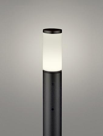 【最安値挑戦中!最大25倍】オーデリック OG254657LD(ランプ別梱包) ガーデンライト LED 電球色 明暗センサ 防雨型 黒色