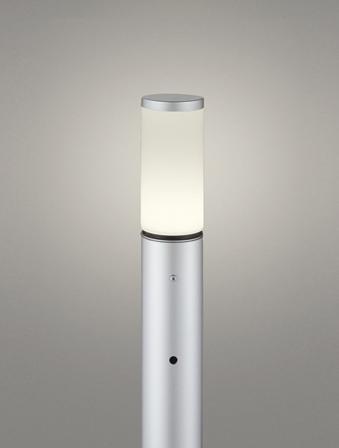 【最安値挑戦中!最大25倍】オーデリック OG254658LD(ランプ別梱包) ガーデンライト LED 電球色 明暗センサ 防雨型 マットシルバー