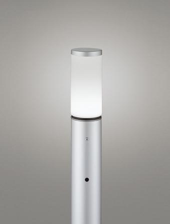 【最安値挑戦中!最大25倍】オーデリック OG254658ND(ランプ別梱包) ガーデンライト LED 昼白色 明暗センサ 防雨型 マットシルバー