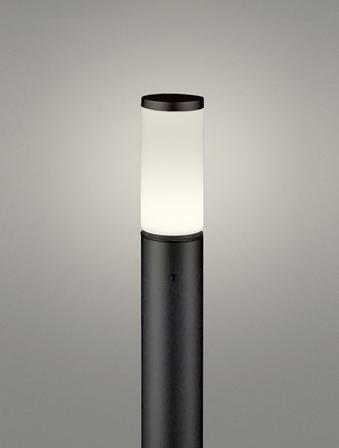 【最安値挑戦中!最大25倍】オーデリック OG254659LD(ランプ別梱包) ガーデンライト LED 電球色 防雨型 黒色