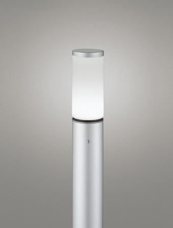 【最安値挑戦中!最大25倍】オーデリック OG254660ND(ランプ別梱包) ガーデンライト LED 昼白色 防雨型 マットシルバー