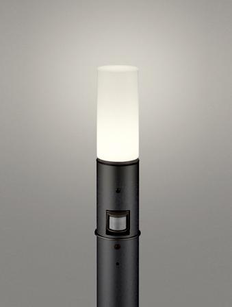 【最安値挑戦中!最大25倍】オーデリック OG254663LC(ランプ別梱包) ガーデンライト LED 電球色 人感センサ 防雨型 黒色