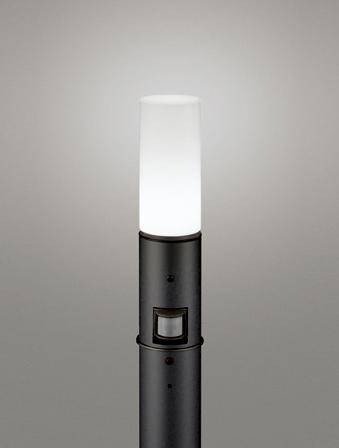 【最安値挑戦中!最大25倍】オーデリック OG254663NC(ランプ別梱包) ガーデンライト LED 昼白色 人感センサ 防雨型 黒色