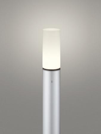 【最大44倍スーパーセール】オーデリック OG254668LD(ランプ別梱包) ガーデンライト LED 電球色 防雨型 マットシルバー