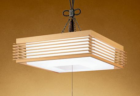 【最安値挑戦中!最大25倍】照明器具 オーデリック OP252069P1 和風ペンダントライト LED一体型 段調光タイプ 昼白色 ~8畳