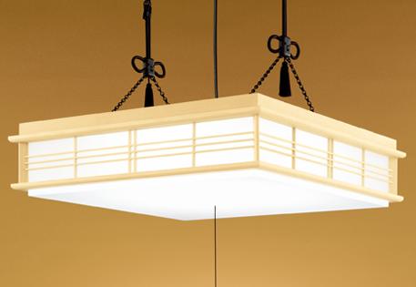 【最安値挑戦中!最大25倍】照明器具 オーデリック OP252159 和風ペンダントライト LED一体型 調光・調色タイプ リモコン付属 プルレス ~14畳