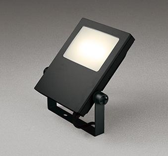 【最大44倍お買い物マラソン】オーデリック XG454038 エクステリアスポットライト LED一体型 電球色 水銀灯400Wクラス ブラック 防雨型