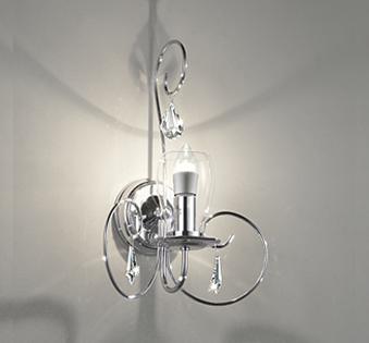 【最大44倍スーパーセール】ブラケットライト オーデリック OB080938LD LED電球シャンデリア球形 電球色 LEDランプ