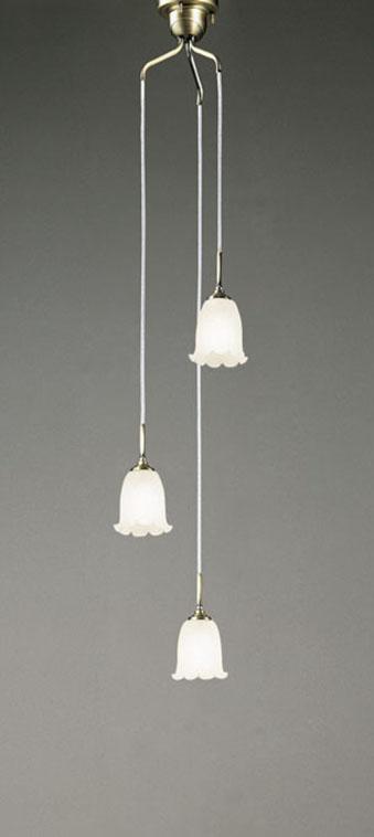 【最大44倍スーパーセール】オーデリック OC079783NC 吹き抜け用シャンデリア LED電球一般形 昼白色 白熱灯60W×3灯相当 調光器別売