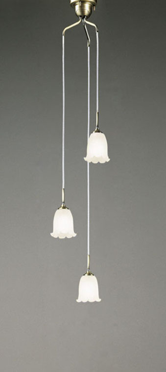 【最大44倍スーパーセール】オーデリック OC079783ND 吹き抜け用シャンデリア LED電球一般形 昼白色 非調光 白熱灯60W×3灯相当