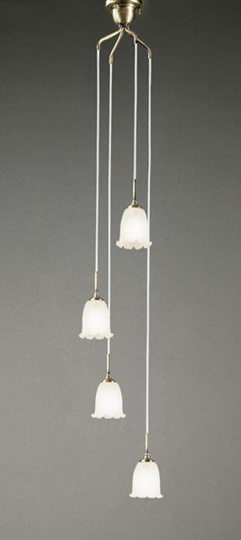 【最大44倍スーパーセール】オーデリック OC079784ND 吹き抜け用シャンデリア LED電球一般形 昼白色 非調光 白熱灯60W×4灯相当