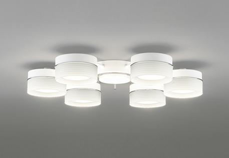 【最大44倍スーパーセール】オーデリック OC257016LC シャンデリア LED電球フラット形 電球色タイプ ~8畳 調光器別売