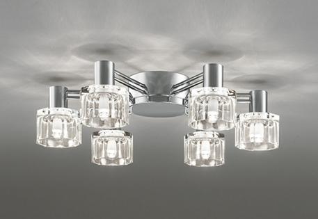 【最大44倍スーパーセール】照明器具 オーデリック OC257019LC シャンデリア LED 連続調光 電球色タイプ ~6畳 調光器別売