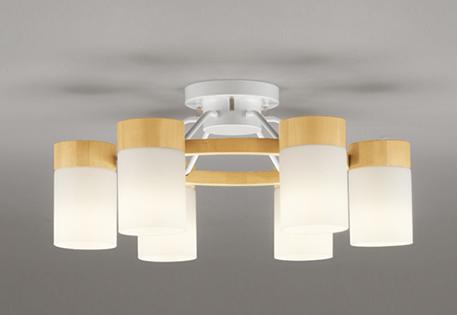【最大44倍スーパーセール】オーデリック OC257064LC(ランプ別梱) シャンデリア LED電球一般形 電球色 ~8畳 調光器別売