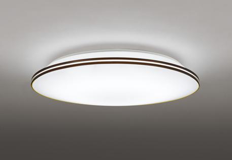 【最安値挑戦中!最大25倍】オーデリック OL251512BC1 LEDシーリングライト LED一体型 Bluetooth 連続調光調色 電球色~昼光色 リモコン別売 ~8畳 ブラウン