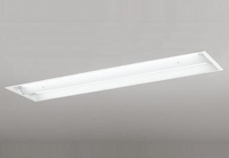 【最安値挑戦中!最大25倍】照明器具 オーデリック XD266102P1(ランプ別梱) ベースライト 直管形LEDランプ 埋込型 下面開放型(幅広) 2灯用 昼白色