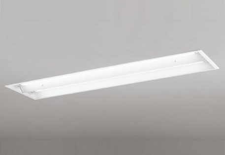 【最安値挑戦中!最大25倍】照明器具 オーデリック XD266102P1D(ランプ別梱) ベースライト 直管形LEDランプ 埋込型 下面開放型(幅広) 2灯用 温白色
