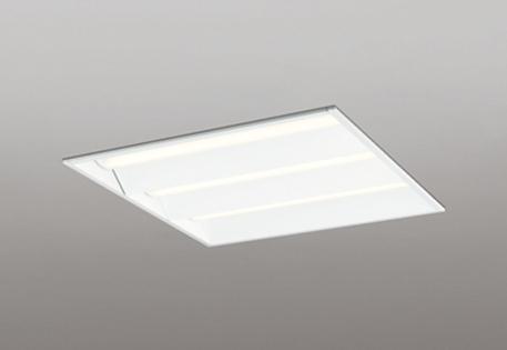 【最安値挑戦中!最大25倍】オーデリック XD466001P4E(LED光源ユニット別梱) ベースライト LEDユニット型 埋込型 PWM調光 電球色 調光器・信号線別売 ルーバー無