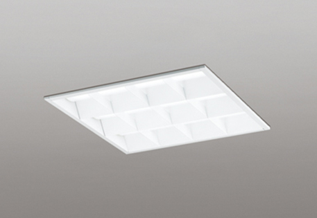【最大44倍スーパーセール】オーデリック XD466007P3D(LED光源ユニット別梱) ベースライト LEDユニット型 埋込型 PWM調光 温白色 調光器・信号線別売 ルーバー付