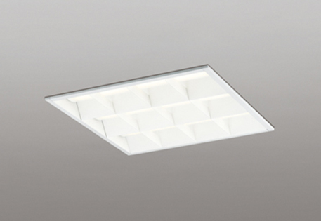 【最安値挑戦中!最大25倍】オーデリック XD466016P3E(LED光源ユニット別梱) ベースライト LEDユニット型 埋込型 非調光 電球色 ルーバー付