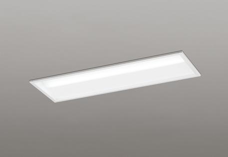 【最大44倍お買い物マラソン】オーデリック XD504001P4D(LED光源ユニット別梱) ベースライト LEDユニット型 埋込型 20形 非調光 3200lmタイプ 温白色 白
