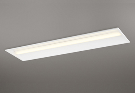 【最大44倍!大感謝祭】オーデリック XD504011P2E(LED光源ユニット別梱) ベースライト LEDユニット型 埋込型 非調光 電球色 白