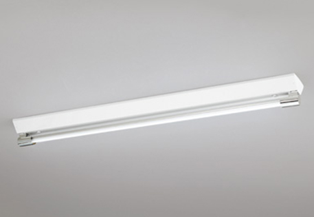 【最安値挑戦中!最大25倍】照明器具 オーデリック XL251191P1A(ソケットカバー・ランプ別梱) ベースライト 直管形LEDランプ 直付型 1灯用 昼光色 クローム色