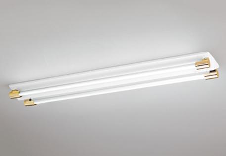 【最安値挑戦中!最大25倍】照明器具 オーデリック XL251200P1E(ソケットカバー・ランプ別梱) ベースライト 直管形LEDランプ 直付型 2灯用 電球色 金色