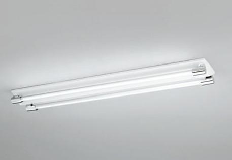 【最安値挑戦中!最大25倍】照明器具 オーデリック XL251201D(ソケットカバー・ランプ別梱) ベースライト 直管形LEDランプ 直付型 2灯用 温白色 クローム色