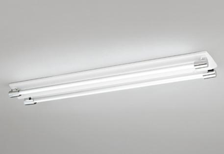 【最安値挑戦中!最大25倍】照明器具 オーデリック XL251201P1C(ソケットカバー・ランプ別梱) ベースライト 直管形LEDランプ 直付型 2灯用 白色 クローム色