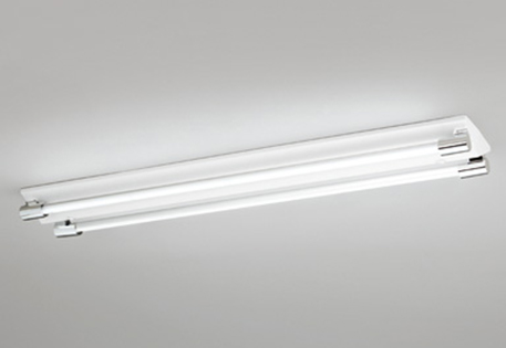 【最安値挑戦中!最大25倍】照明器具 オーデリック XL251201P2B(ソケットカバー・ランプ別梱) ベースライト 直管形LEDランプ 直付型 2灯用 昼白色 クローム色 [(^^)]