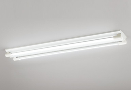 【最大44倍スーパーセール】照明器具 オーデリック XL251202P2B(ソケットカバー・ランプ別梱) ベースライト 直管形LEDランプ 直付型 2灯用 昼白色 白色