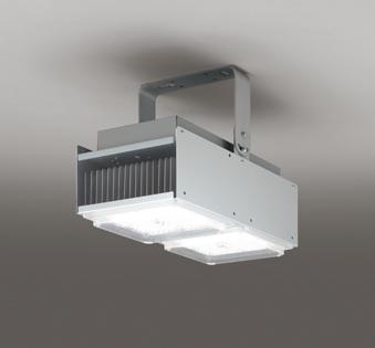【最安値挑戦中!最大25倍】オーデリック XL501043 ベースライト 高天井用照明 LED一体型 非調光 昼白色 マットシルバー