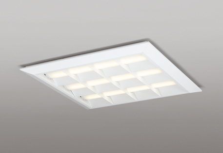 【最安値挑戦中!最大25倍】オーデリック XL501052P2E(LED光源ユニット別梱) ベースライト LEDユニット型 直付/埋込兼用型 非調光 電球色 ルーバー付